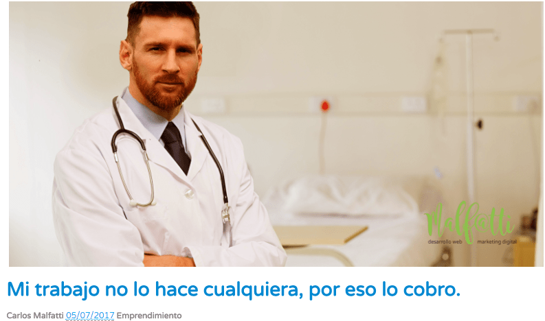 Messi doctor - marketing digital